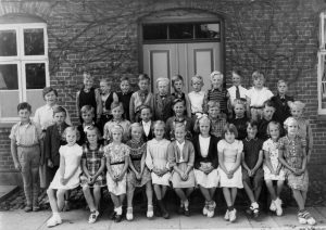 b1848 Skolebillede 1953-54