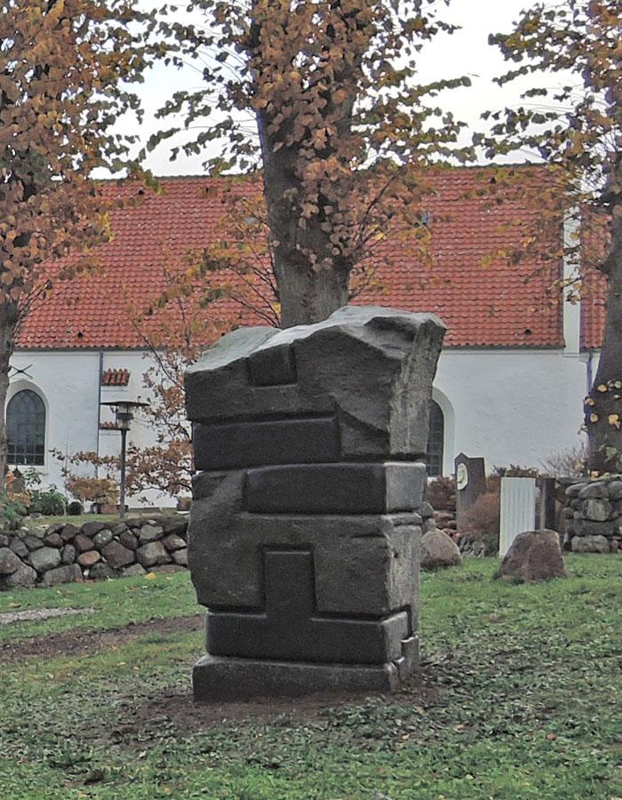 Troelsens skulptur
